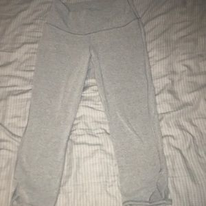 Workout Pants, worn for about 2 hours.